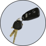National Security Lock Automotive Keys